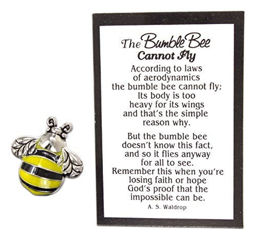 - The Bumble Bee Cannot Fly Pocket Token