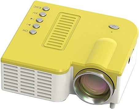 HongLianRiven Proyector de vídeo, el Apoyo 320x180dpi el hogar de ...
