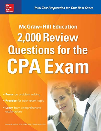 Pdf Test Preparation McGraw-Hill Education 2,000 Review Questions for the CPA Exam