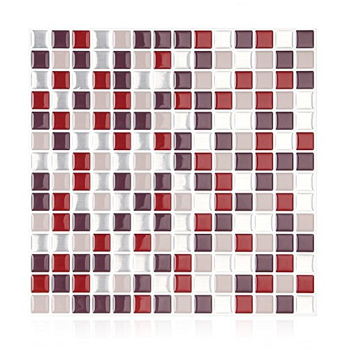 Yiyasu Self Adhesive Mosaic Tile Wall Sticker Diy Kitchen