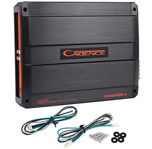 Dodge B250 Differential - Cadence FXA2400.4 2400 Watt Peak 1200w RMS 4-Channel Car Stereo Amplifier Amp