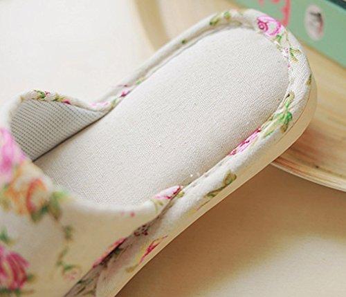 Cattior Dames Comfortabele Damesslippers Pantoffels Rode Pantoffels
