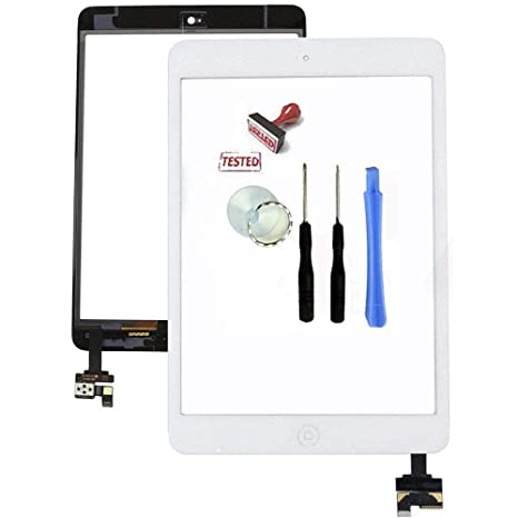 IC Connector For iPad Mini Home Button White Touch Glass Digitizer Screen