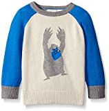 The Children's Place Baby-Boys LB Intrsa Sweater, Stone, 12-18 Months