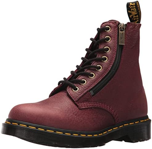 DR MARTENS 1460 PASCAL WZIP GRIZZLY