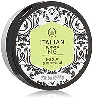 The Body Shop Italian Summer Fig Body Cream, 6.6 Fluid Ounce