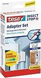 Tesa 55193-00000-00 Comfort - Adaptador para marcos de aluminio, color blanco
