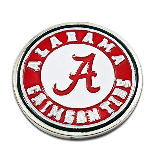 Art Crafter NASS NCAA College University Football Alabama Crimson Tide Challenge Coin Badge NS01, No Licensed Sports Commemorative Coins