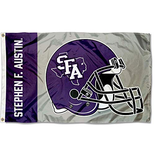 College Flags and Banners Co. Stephen F. Austin Lumberjacks Football Helmet Flag