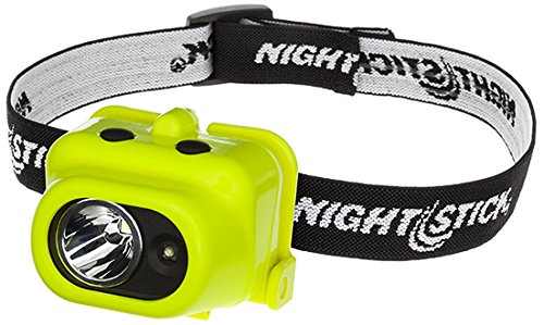 Nightstick XPP-5454G Intrinsically Safe Dual-Light Multi-Function Headlamp, Green Bayco