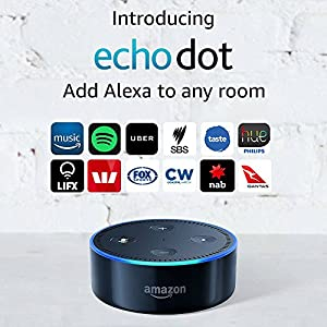 Introducing Amazon Echo Dot (2nd Generation), Black