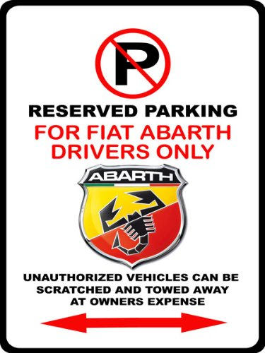 fiat-500-abarth-exotic-car-logo-no-parking-sign