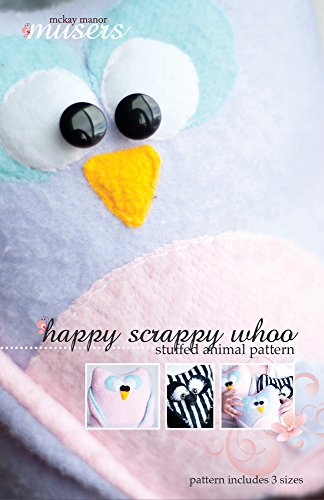 McKay Manor Musers Happy Scrappy Whoo Stuffed Owl Animal ...