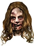 The Walking Dead TV Show, Adult Little Girl Latex Mask, One Size