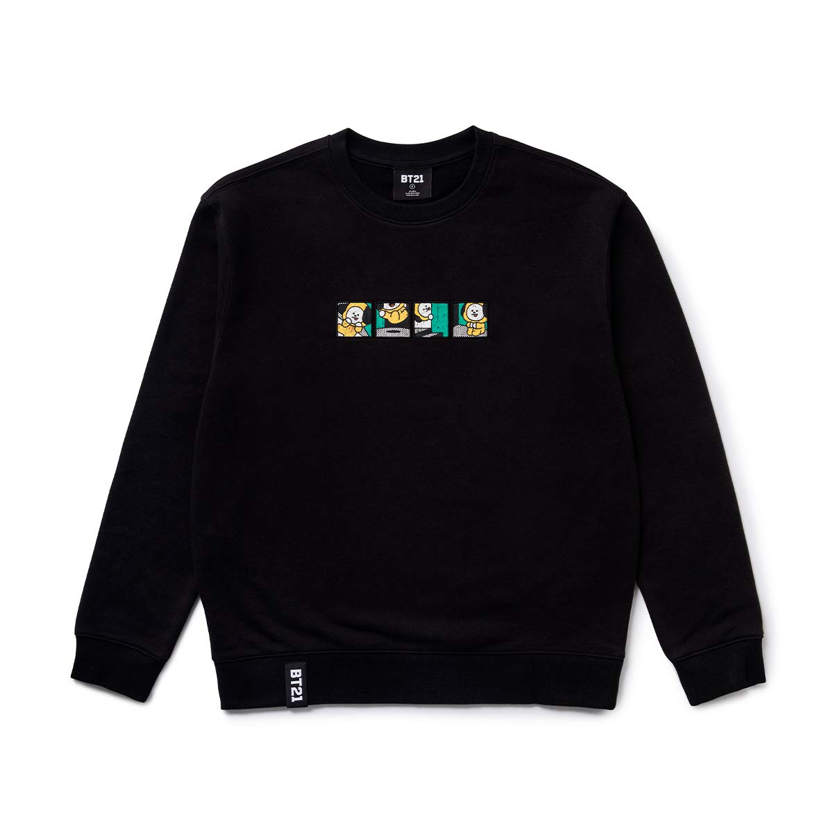 16639cd11b1 BT21 Official Merchandise by Line Friends - Character Long Sleeve ...