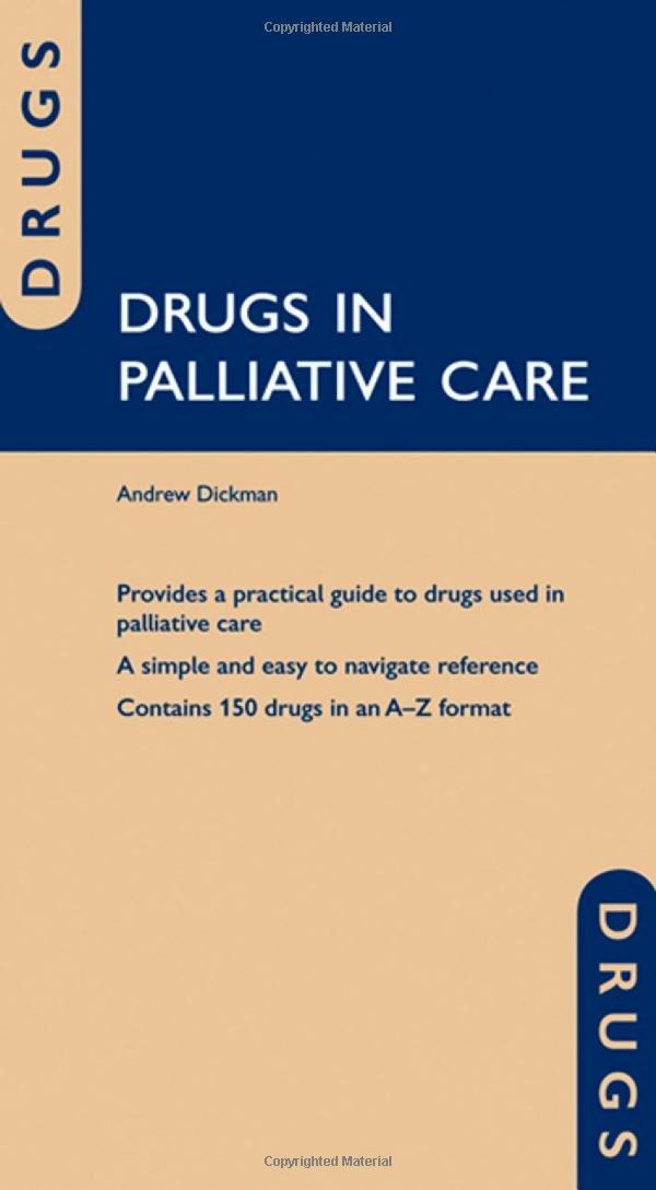 Pdf formulary palliative care