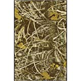 "Realtree Max 4 Solid Camo Novelty Rug Rug Size: 5'4"" x 7'8"""
