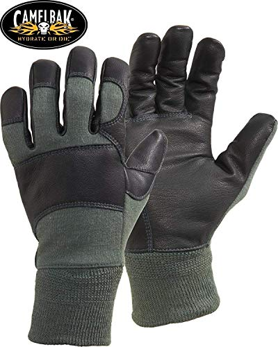 Camelbak Genuine Issue Fire Resistant MXC DFAR Combat Gloves, Sage Green (LARGE)