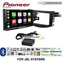 Volunteer Audio Pioneer AVH-W4400NEX Double Din Radio Install Kit with Wireless Apple CarPlay, Android Auto, Bluetooth Fits 2006-2012 Toyota RAV4 with Amplified System