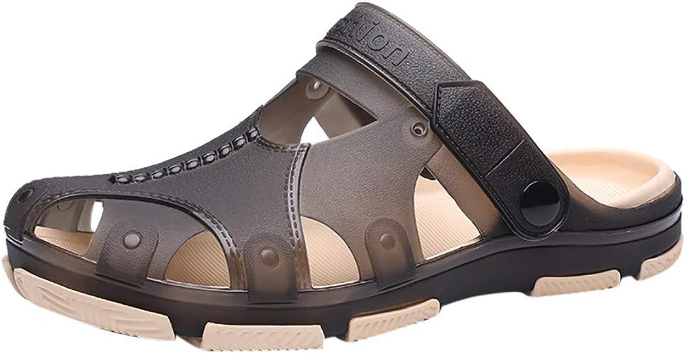 1896930c5bd9 Sumen Mens Garden Shoes Clogs Sandals Slippers Beach Pool Water ...