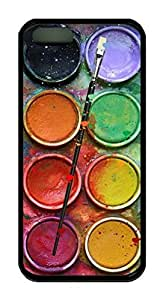 Watercolor Box Theme Iphone 5 5S Case TPU Material