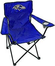 NFL Baltimore Ravens Unisex LP0055NFL Game Day Elite Chair, Purple, Adult