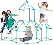 9IUoom Fort Building kit for Kids 120 Pieces Air Forts Builder Gift Kid Construction Toys for Boys and Girls A