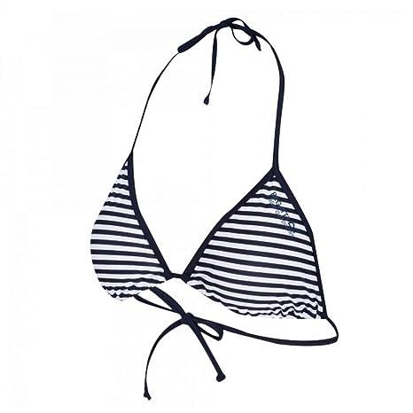 95641994e0b Regatta Great Outdoors Womens/Ladies Aceana Bikini String Top (8) (Navy  Stripe