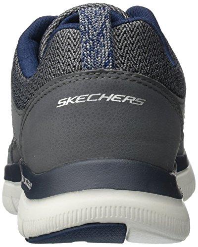 Skechers Flex Advantage 2.0, Scarpe Sportive Outdoor Uomo Grigio (Lgor)