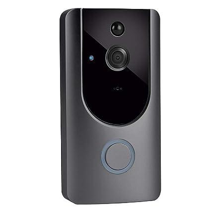 Ring Video Doorbell, Visual Doorbell HD Camera, Wireless Doorbell, WiFi Security Night Vision