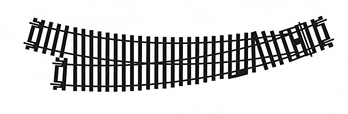 CR8074 Hornby Accesorio v/ía Desv/ío en Curva a Izquierda