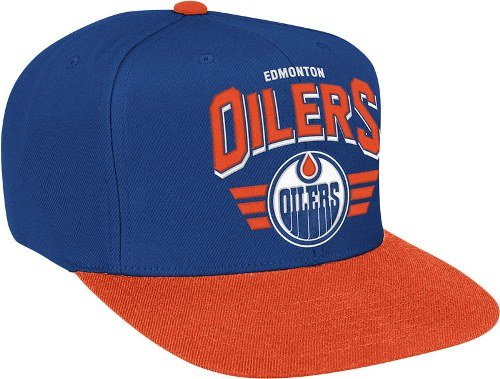 Houston Ness Oilers (Edmonton Oilers The Stadium Arch Vintage Hat)