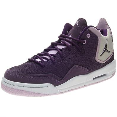 meet 49017 ba88e Nike Women s Jordan Courtside 23 (gs) Fitness Shoes, Multicolour (Pro Night  Purple Desert Sand 500), 3.5 UK  Amazon.co.uk  Shoes   Bags