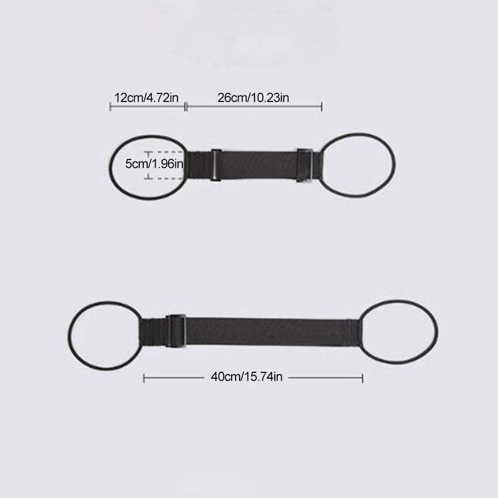 elastischer G/ürtel System zum Verriegeln und Tragen mehrerer Koffer zusammen Add-A-Bag Gep/äckgurt f/ür Koffer Ysoom Gep/äckband Handgep/äck-Befestigung auf Trolley