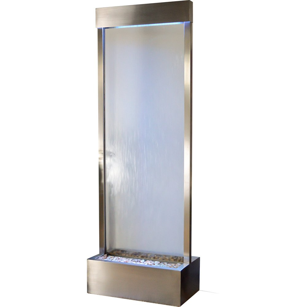 Amazon.com : Bluworld Towering 8\' Stainless Steel Gardenfall with ...