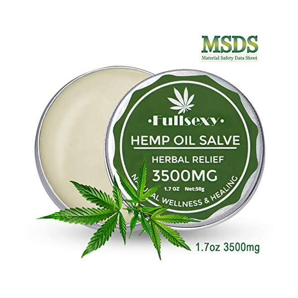 Hemp Gel, Hemp Soothing Gel 3500mg Pain Relief Cream