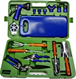 The Rumford Gardener AMW5000 16-Piece Tool Set with Molded Case