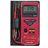 Pocket Size Digital Multi-Tester with 5 Ranges, 16 Functions and Case