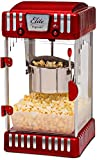 Elite Deluxe EPM-250 2.5 Ounce Classic Tabletop Kettle Popcorn Popper Machine, Retro-Style, Red