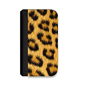 Insomniac Arts - Leopard Fur, Animal Print - Wallet Cover, Case for iPhone 6 PLUS