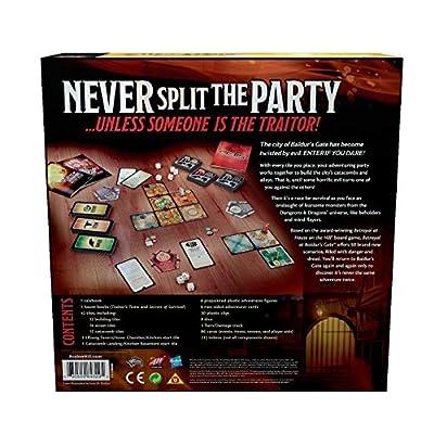Avalon Hill Betrayal at Baldur's Gate Board Game: Toys & Games