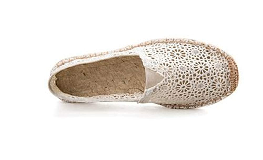 satisfied Summer mesh Lace Hollow Breathable Shoes Linen Shoes