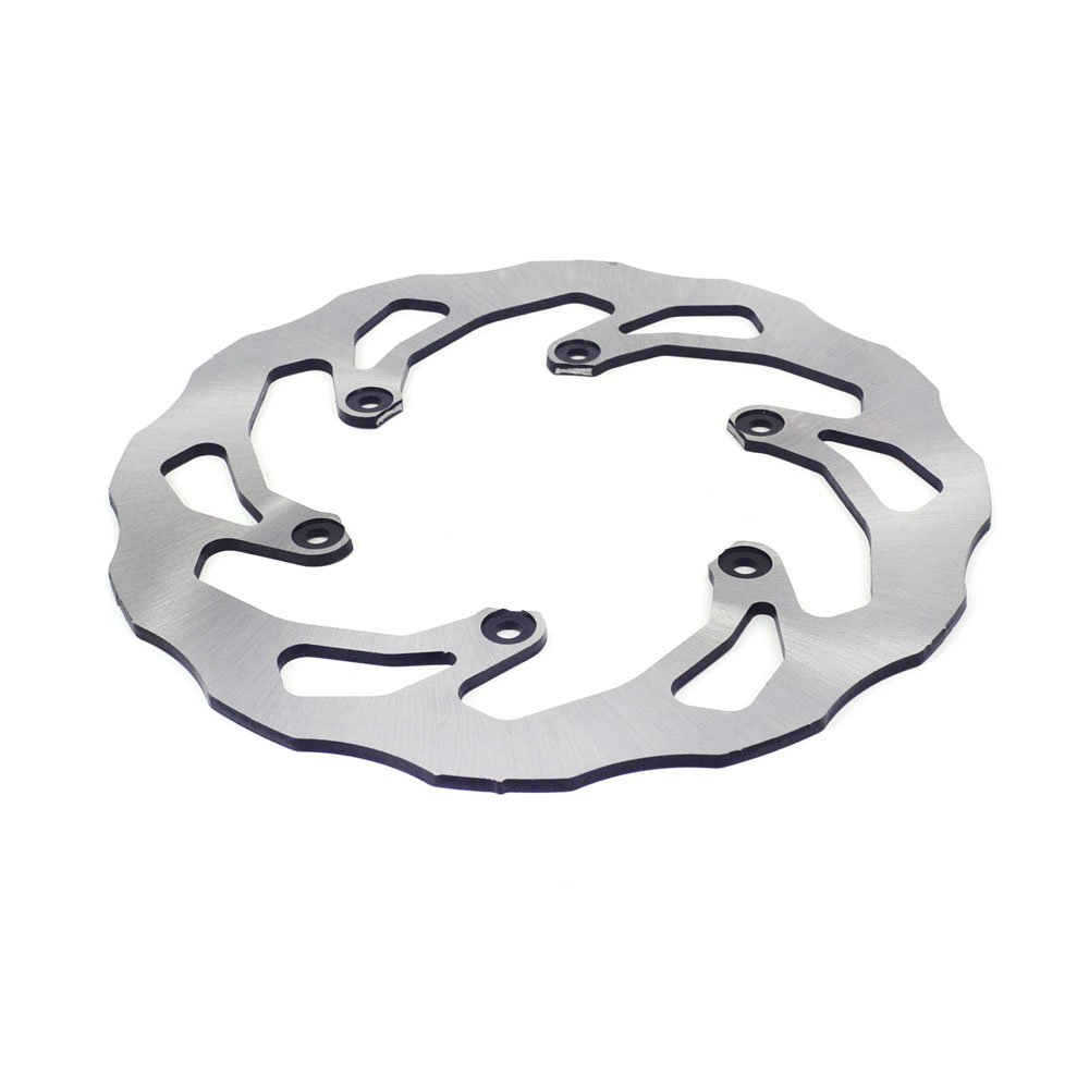 JFG RACING Stainless Steel 245MM Rear Brake Disc Rotor For Yamaha YZ15 YZ250 02-17 YZ250F 02-17 YZ450F 02-17 YZ125X 17 YZ250X 16-17 YZ250FX 15-17 YZ450FX WR250F WR250F WR450F
