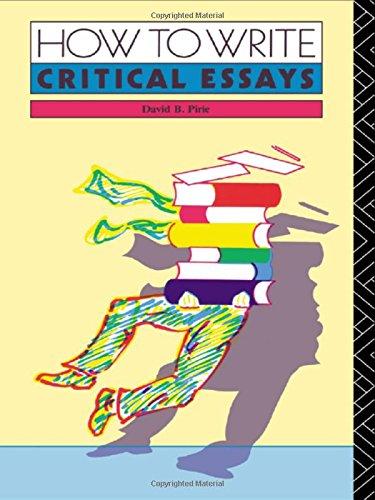 How to Write Critical Essays