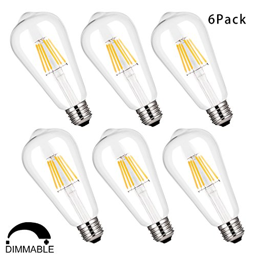 Dimmable Vintage Filament Incandescent Equivalent product image