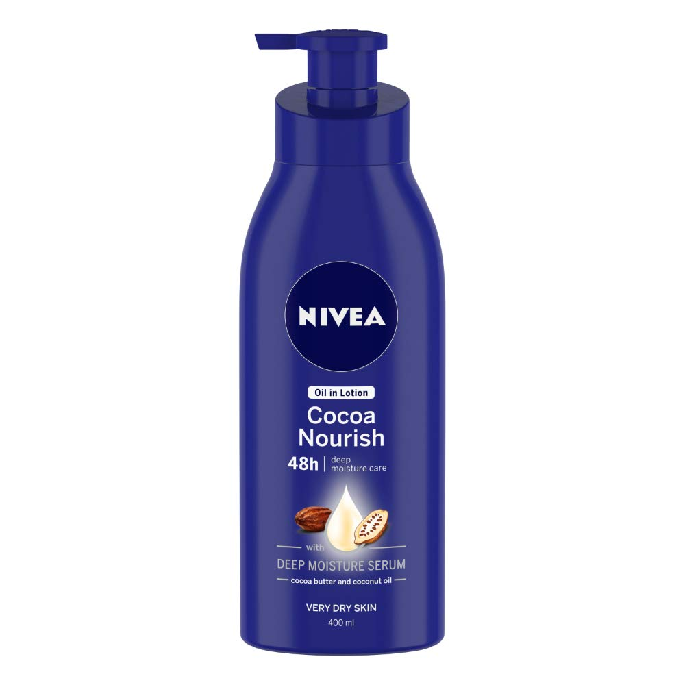 NIVEA Body Lotion, Oil in Lotion Cocoa Nourish, For Very Dry Skin, 400ml product image