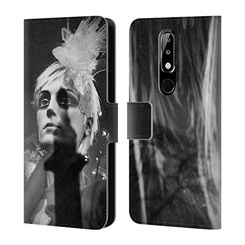 Official Dorit Fuhg When She Came Down to Earth City Street Life Leather Book Wallet Case Cover Compatible for Nokia 5.1 Plus / X5 ()