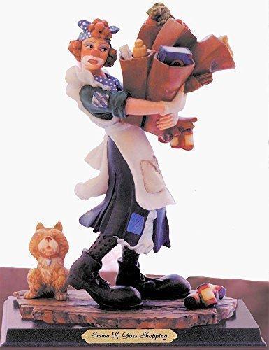 (Emma K. Goes Shopping Rare Clown Collectible Figurine, Companion to Emmett)