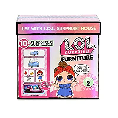 L.O.L. Surprise! Furniture Road Trip with Can Do Baby & 10+ Surprises: Toys & Games