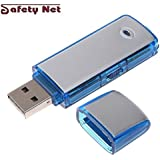 SAFETYNET USB Flash Drive Spy Mini Hidden Pen Drive U Disk With 10 Hours Continuous Recording Time on One Charge